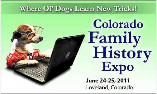 Colorado Family History Expo logo