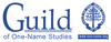 Guild of One-Name Studies logo