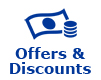 Special offers and discounts