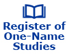 Register of One-Name Studies