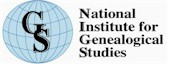 Logo of National Institute of Genealogical Studies